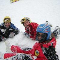 Sant' Anna Pelago - un tuffo nella neve fresca